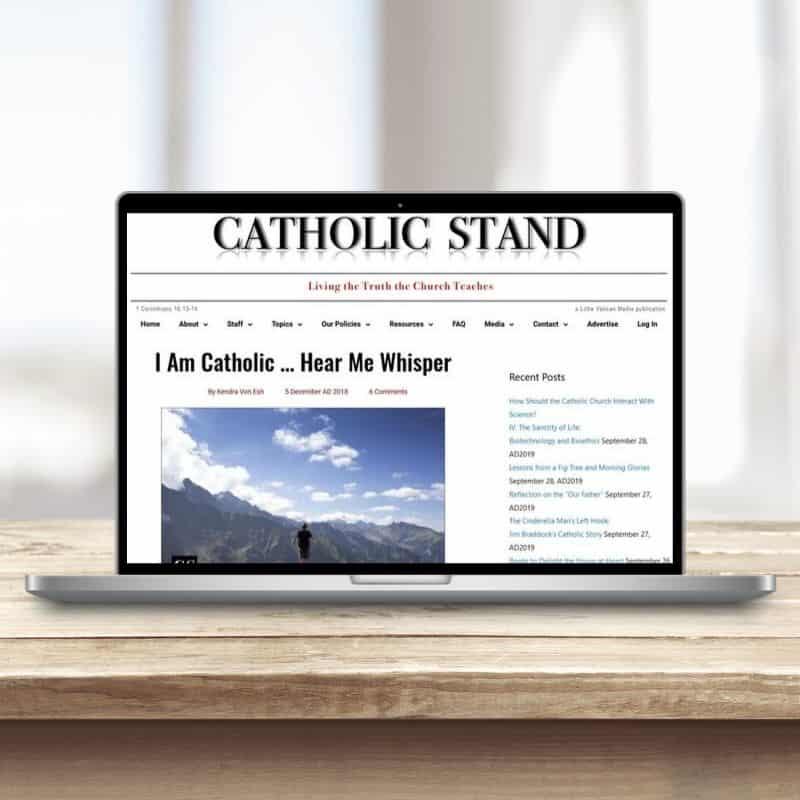 Kendra-CatholicStand